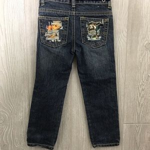Upcycled crazy 8 4-t guardians of the galaxy jeans